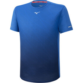 Mizuno Aero T-shirt Heren, princess blue